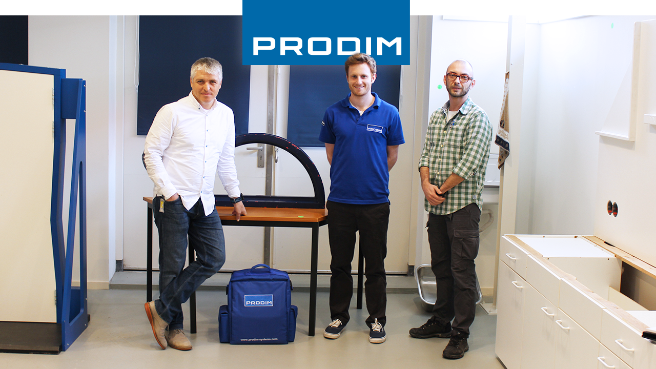 Proliner del usuario PRODIM Glass Expert