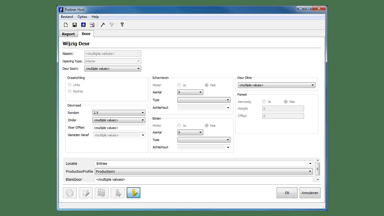 Captura de pantalla- PRODIM Proliner Software Para Puertas