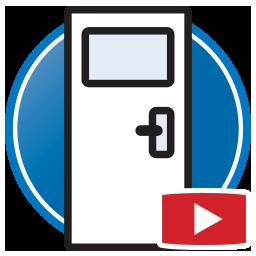 botón para Ver Vídeos del Proliner Medición digital de Puertas