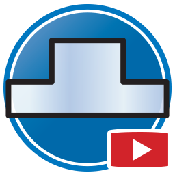 botón para Ver Videos Proliner de medición de paredes y espejos de Vidrio