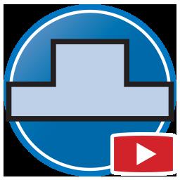 botón para Ver Videos Proliner de Medición digital de las paredes, aplacados / frontales