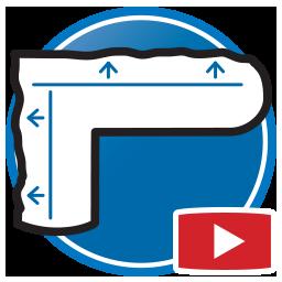 botón para Ver más videos Proliner de medir plantillas para Cristalerías