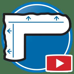 botón para Ver más videos Proliner a medir plantillas para marmolistas