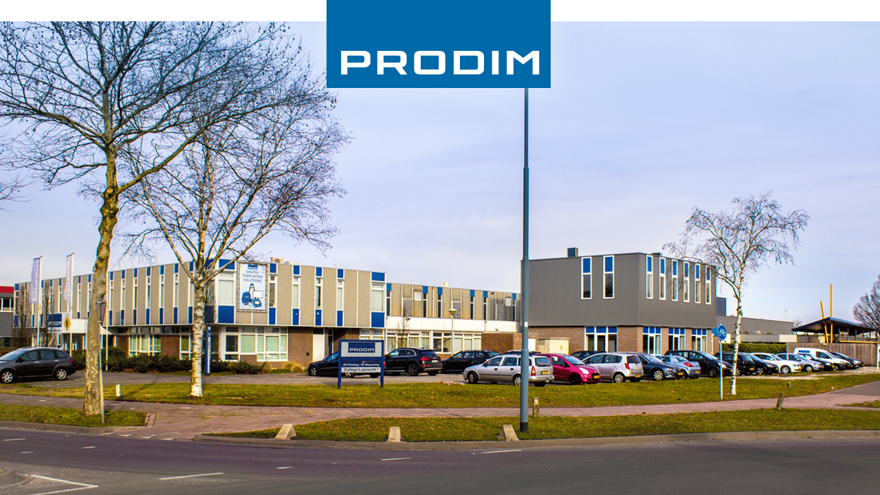 Oficina y fábrica PRODIM International en Helmond, Países Bajos