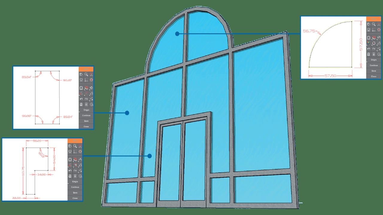 Imágenes: Software PRODIM Proliner Para Puertas y Ventanas