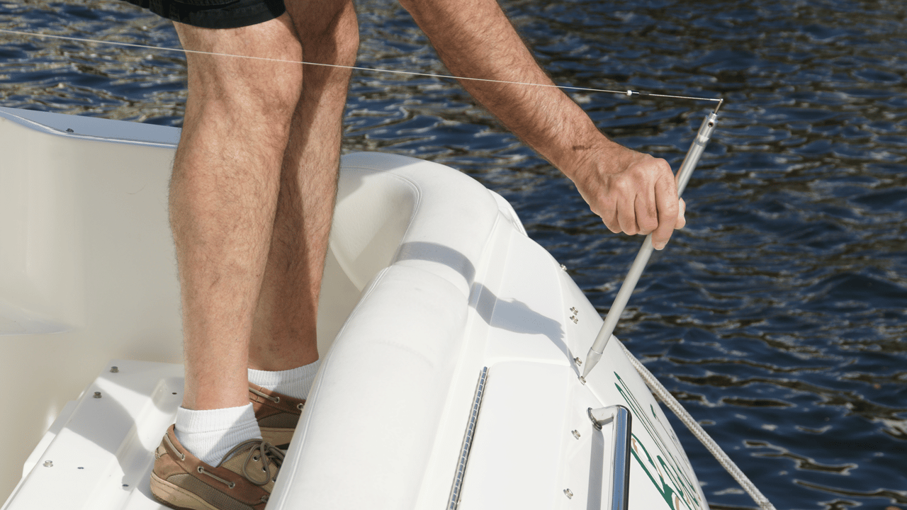 IPT Proliner PRODIM -utilizado en la industria Fundas de barcos y textiles para medir puntos de difíciles de alcanzar