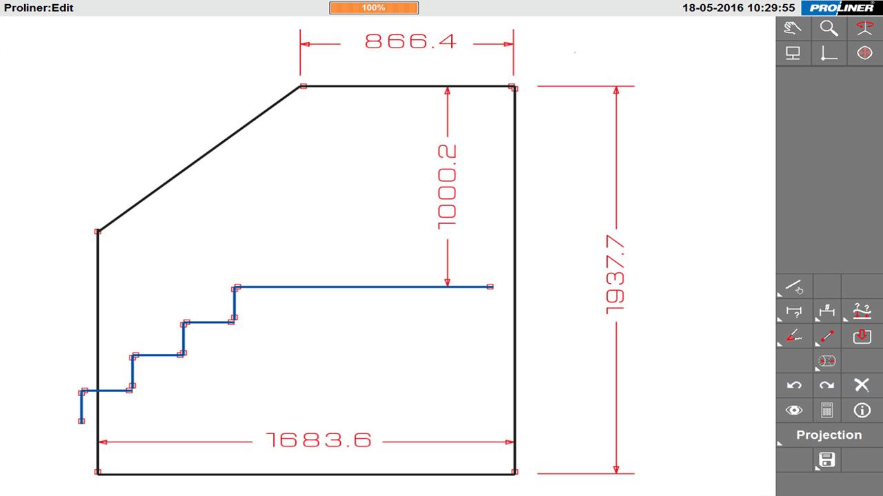 Soluciones PRODIM para el Industria Vidrio arquitectónico-cuerpos del protector, travesaños de la ventana