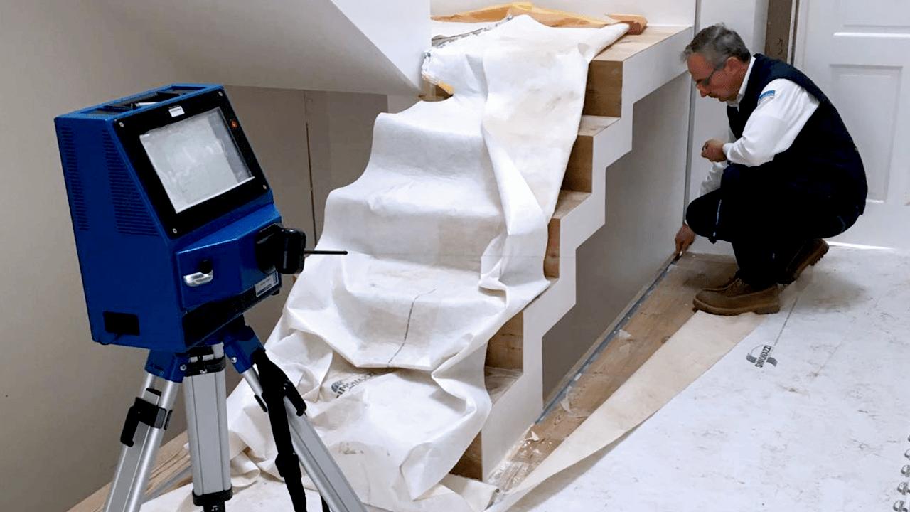 Soluciones de la industria Vidrio Arquitectónico PRODIM – Protectores de escaleras