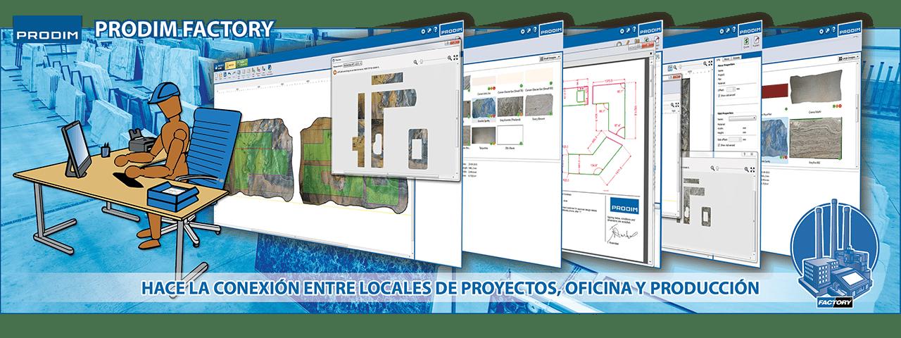 Slider - Prodim Factory software. Haga clic para obtener más información