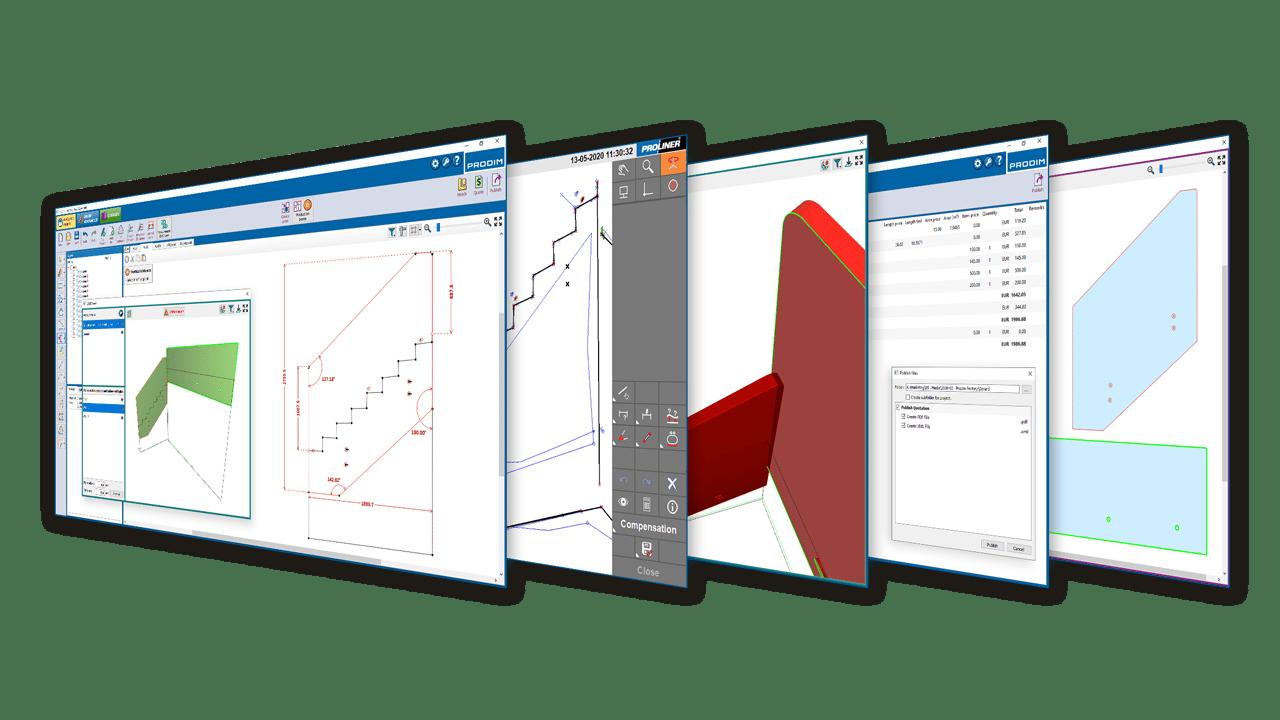 La solución de software Prodim Factory - Industria del vidrio