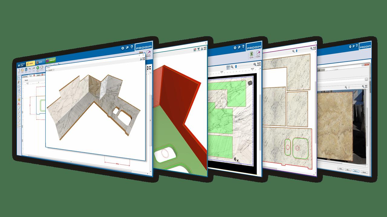 La solución de software Prodim Factory - Industria de la Piedra