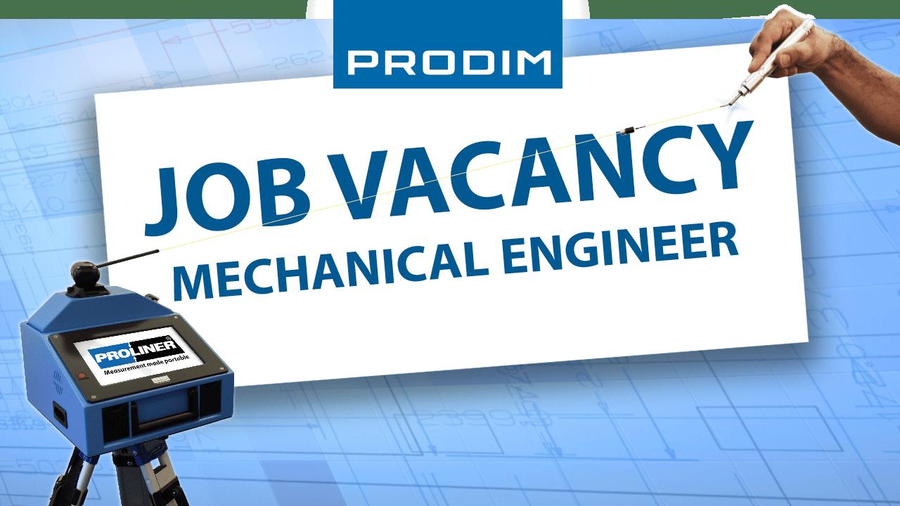 Oferta de empleo PRODIM: Mechanical Engineer