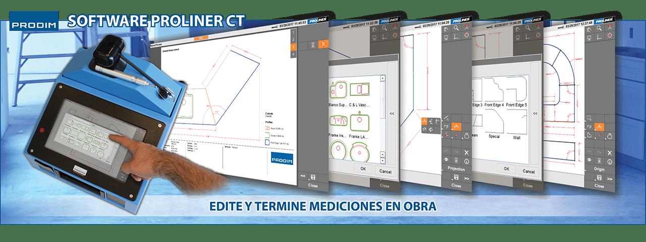 Slider - Prodim Proliner CT software. Haga clic para obtener más información