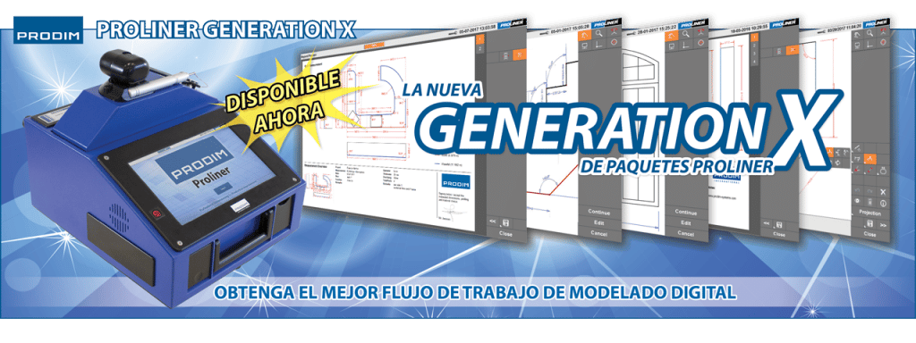 Slider - Prodim Proliner Generation-X paquetes - Obtenga el mejor flujo de trabajo de modelado digital