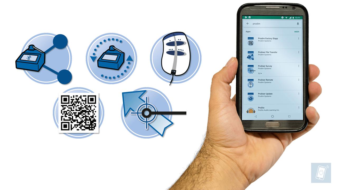 Aplicación Prodim para sus teléfonos smartphone