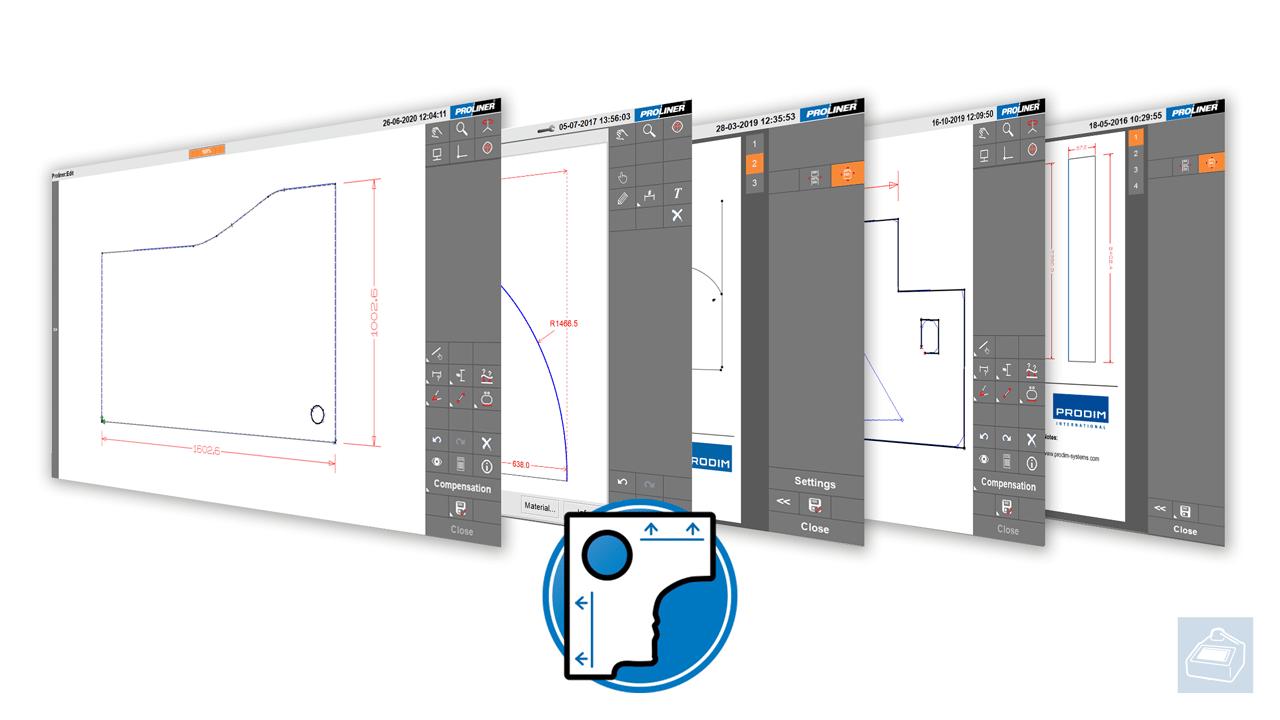 El software Proliner - Template-app