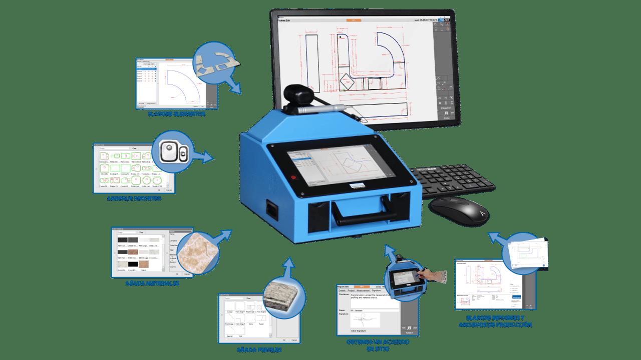 Prodim - El software Proliner Stone CT