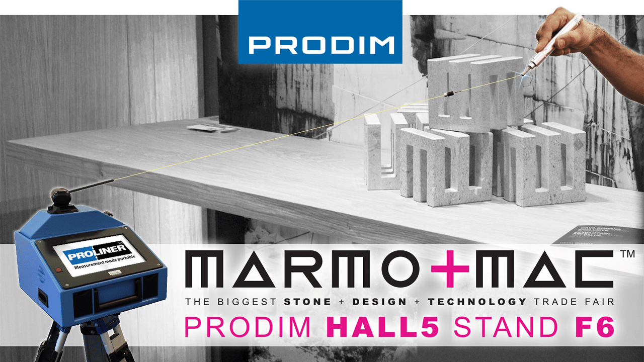 Visita Prodim en Marmomac 2018 in Verona (IT) - Hall 5 - Stand F6