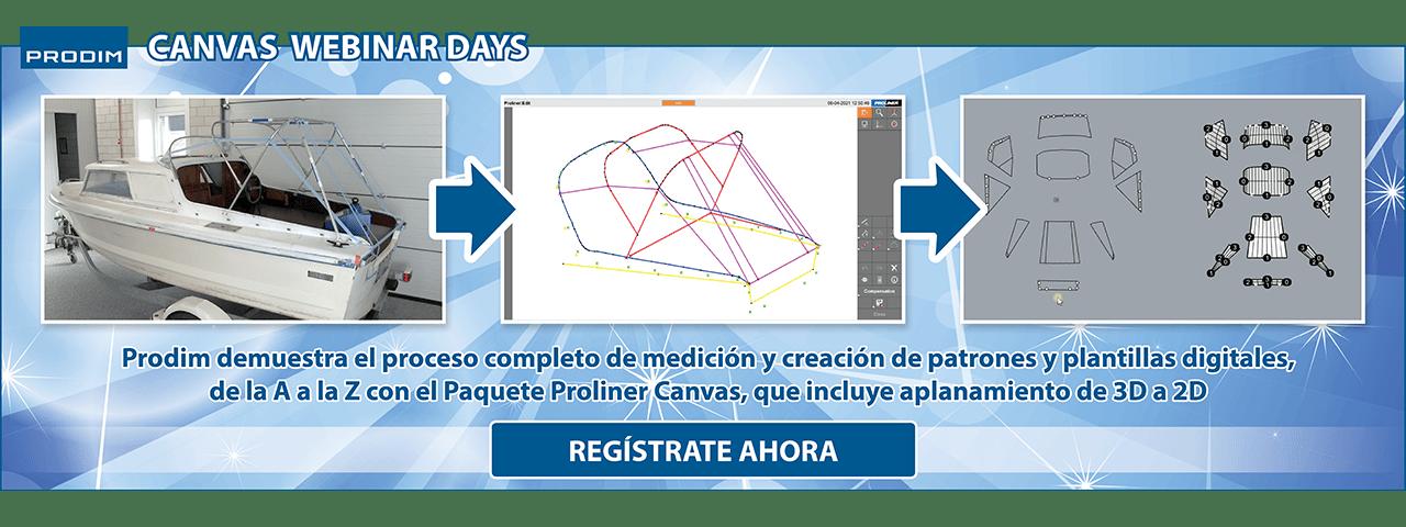 Slider - Prodim Canvas Webinar Days - Mayo 2021 - Regístrate ahora