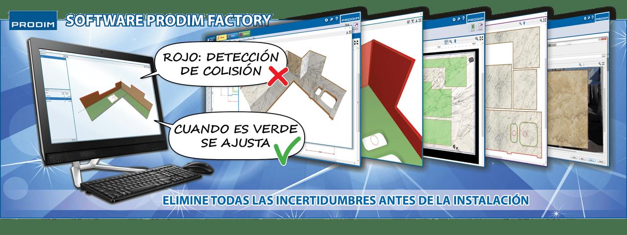 Slider - Software Prodim Factory - Elimine todas las incertidumbres antes de la instalación